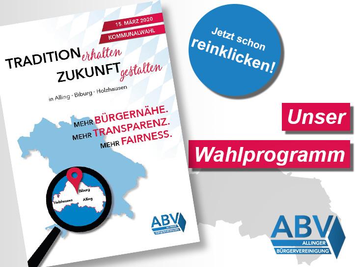 ABV Wahlprogramm